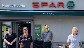 Independent SPAR retailer donates £75K to local charities