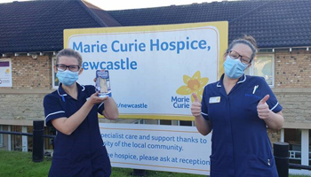 SPAR send Christmas cheer to Marie Curie's Newcastle Hospice