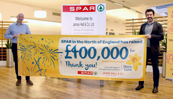 James Hall & Co. hit fundraising milestone of £400K for Marie Curie!