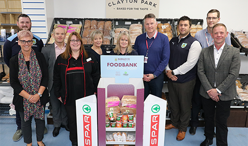 SPAR launch new partnership with Burnley Community Kitchen