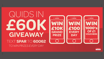 James Hall & Co. launches a £60K giveaway for SPAR customers!