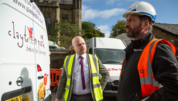 Meeting BBC DIY SOS' call for help