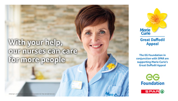 EG Group pledge to support Marie Curie's Great Daffodil Appeal