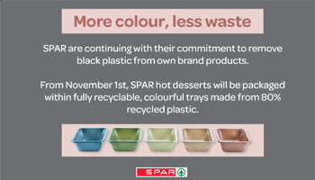 SPAR continues its focus on reducing plastic packaging waste