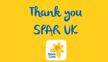 SPAR hits £1.5million for Marie Curie fundraising
