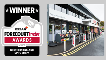 SPAR Warton recognised at the Forecourt Trader Awards 2019
