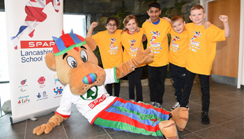 Launch of the fourteenth SPAR Lancashire School Games season