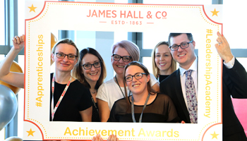 James Hall & Co. celebrate learning excellence